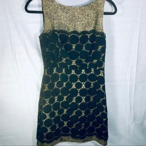 Milly of New York Dresses - Milly of BY Mini sheath Dress. Gold/Black